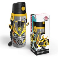 Yaygan Transformers 600 Ml Pipetli Çelik Matara (Termos) - 52918