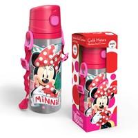 Yaygan Minnie Mouse 600 Ml Pipetli Çelik Matara (Termos)