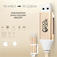 CoolGear Otg Data&Şarj Kablosu