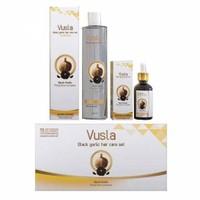 Vusla Kara Sarımsak Özlü Saç Şampuan Seti