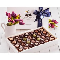 Cocoas Chocolat İndigo Lale El Yapımı 750 Gr
