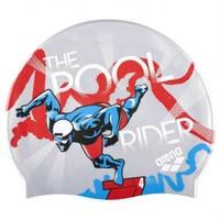 Arena Poolish Swim Cap Silikon Bone