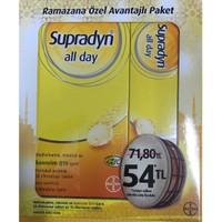 Supradyn All Day Multi vitamin Mineral Ve Koenzim Q10 30+15 Efv Tablet