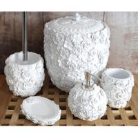 İrya Romantic Beyaz 5 Parça Banyo Seti