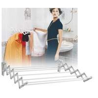 Doğuş Banyo Doğuş Katlanabilir Demirli Çamaşır Askılığı-80 Cm