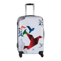 Prado Malp Sert Pc 3Lü Valiz Seti Flybird - Beyaz