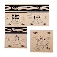 Cats By Luyano Bardak Altılığı 4 Lü Set Happy Cats-1