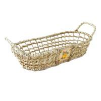 Kanca Ev Natürel Oval Yayvan Ekmek- Meyve Sepeti-Meyve Küçük