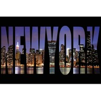 Innova New York 40X60 Cm Cam Tablo
