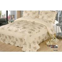 Cotton House Nubuk Çift Kişlik Yatak Örtüsü - Elita