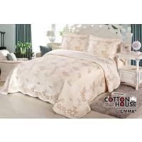 Cotton House Nubuk Çift Kişlik Yatak Örtüsü - Emma