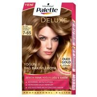 Palette Deluxe 7.65 Altın Parıltılı Toffee Saç Boyası