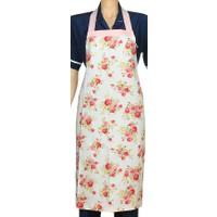 Aliz Mutfak Önlüğü-Pembe Çiçekli