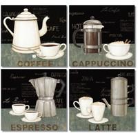 Fotocron Coffee Signs 4'lü Tablo