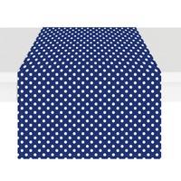 Beauty-Crafts Runner Puantiyeli 40x135 cm - Mavi
