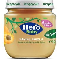 Hero Baby Organik Kayısı Muz Kavanoz Maması 120 gr