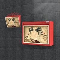 Pappuchbox Metal Ayakkabılık 3039