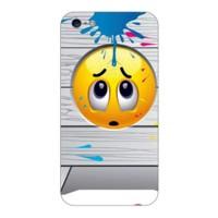 Bordo İphone 6S Kapak Kılıf Emoji Baskılı Silikon