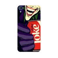 Bordo Htc Desire 728 Kapak Kılıf Joker Baskılı Silikon