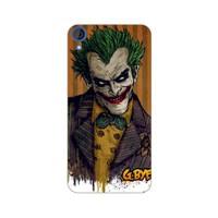 Bordo Htc Desire 626 Kapak Kılıf Renkli Joker Baskılı Silikon