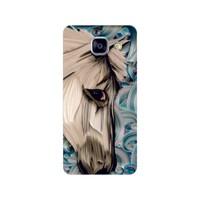 Bordo Samsung Galaxy A5 2016 Kapak Kılıf Baskılı Silikon