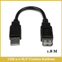 Ti-mesh USB 2.0 A M / USB A F Kablo - 1,8M