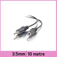 Ti-mesh 3.5mm Stereo Ses Uzatma Kablosu - Siyah - 10M