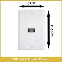 Ti-mesh USB2.0 1xA Female 70MM*115MM