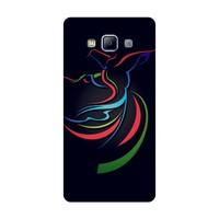 Bordo Samsung Galaxy E5 Kapak Kılıf Baskılı Silikon