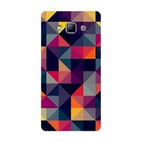 Bordo Samsung Galaxy E7 Kapak Kılıf Renkler Baskılı Silikon