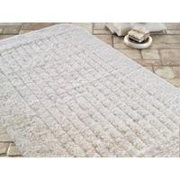Confetti Confetti Cotton Strıpe Ekru Banyo Halısı   70 x 120 cm