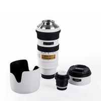 BuldumBuldum Nikon Lens Termos - Beyaz