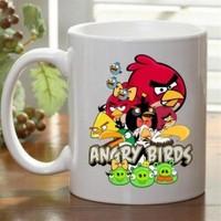 BuldumBuldum Angry Birds Kupa Bardaklar - Büyük Yeşil Gagalı Kuş