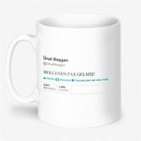 BuldumBuldum Ünal Başgan 'Fax' Ürünleri - Beyaz Kupa