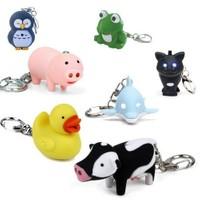 BuldumBuldum Led Keychain - Led Li Anahtarlıklar - Panda