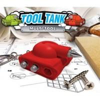 BuldumBuldum Tool Tank - Çok İşlevli Tank Anahtarlık - Kırmızı