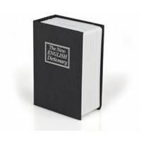BuldumBuldum Kitap Görünümünde Anahtarlı Kumbara - Siyah