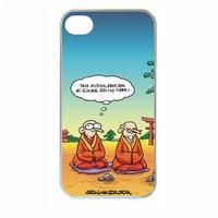 BuldumBuldum Selçuk Erdem Budist İphone 4/4S/5 Kılıfı - Şeffaf