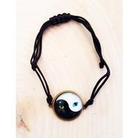 Köstebek Cat Eye Ying-Yang Bileklik Kgb024