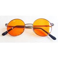 Köstebek Gri Çerçeveli Sarı John Lennon Güneş Gözlüğü Jlg024