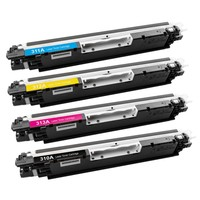 Calligraph Hp LaserJet Pro CP1025 Mavi Renkli Toner Muadil Yazıcı Kartuş