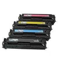 Calligraph Hp Color LaserJet Pro CP1215 Mavi Renkli Toner Muadil Yazıcı Kartuş