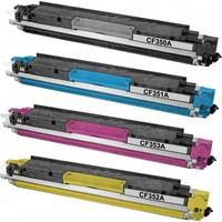 Calligraph Hp LaserJet Pro MFP M176n Mavi Renkli Toner Muadil Yazıcı Kartuş
