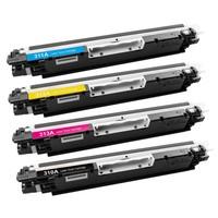 Calligraph Hp LaserJet Pro CP1025 4 Renk Renkli Toner 4 lü Ekonomik Paket Muadil Yazıcı Kartuş