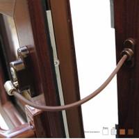 Prado Anahtarlı Pvc Pencere Emniyet Kilidi (5 Adet) - K. Kahve