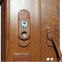 Prado Anahtarlı Pvc Pencere Emniyet Kilidi (5 Adet) - A. Kahve
