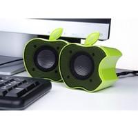 BuldumBuldum Mini Apple Speaker - Elma Hoparlör - Yeşil