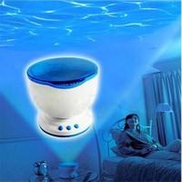 BuldumBuldum Ocean Daren - Dalgalar Gece Işığı Projektör Hoparlör