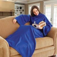 BuldumBuldum Shmuggle Giyilebilir Kollu Battaniye - Mavi