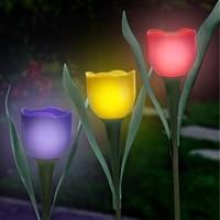 BuldumBuldum Tulip Garden Light - Güneş Enerjili Lale Bahçe Lambası